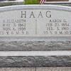 Aaron G. Haag, 23 Feb 1854 - 3 Feb 1910, sone of William E. and Rebecca (Greim) Haag. Husband of Elizabeth Rebecca Forry, 3 May 1862 - 6 Nov 1935. She was the daughter of Cyrus and Clementine (Zerbe) Forry. Together they had six known children.
