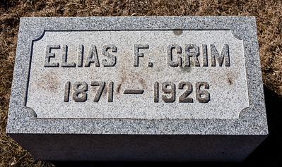 Elias F. Grim, 1871 - 1926.