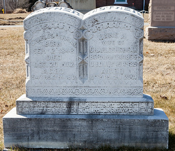 Father: Charles Herman, Sep 2, 1848 - Dec 20, 1902.  Mother: Jane A. Herman, May 20, 1855 - Aug 15, 1935.