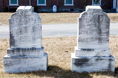 Left stone: William Harper, July 12, 1840 - May 8, 1908.  Right stone: Marian (Moatz) Harper, Sept 6, 1851 - Feb 15, 1915.