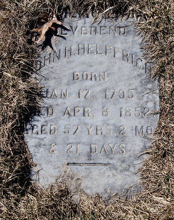 John H. Helffrich, Jan 17, 1795 - Apr 8, 1852.