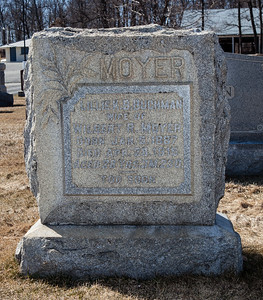 Lillie K. B. (Buchman) Moyer. Jan 5, 1887 - Apr 28, 1915.  Wife of Wilbert R. Moyer.