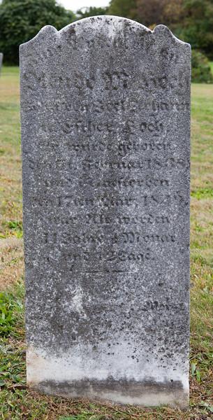 Olendo M. Hoch, Feb 5, 1838 - March 17, 1849. Son of Joel Johann and Esther (Merkel) Hoch. 11 y, __ m, 12? d