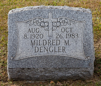 Aug 8, 1920, Oct 26, 1983, Mildred M. Dengler