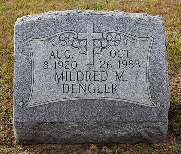 Aug 8, 1920, Oct 26, 1983, Mildred M. Dengler