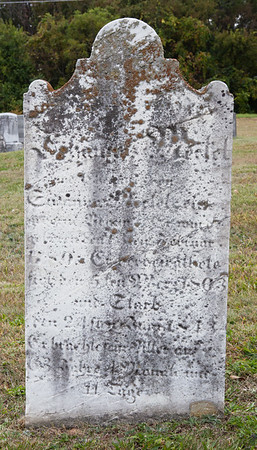 Samuel? M__el?... 1780(?)... 5? March?... 1803... 24 __1843......  If anyone knows whom this stone belongs to, please comment to this image or email me. Thank you.