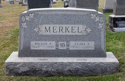 Merkel, Wilson P., 1868 - 1921. Clara A. 1870 - 1943