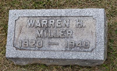 Warren H. Miller, 1920 - 1940