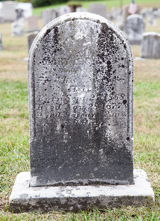 Mary(?)... Hill, born Sept 27, 1868, died Nov. 28, 1877, 9 years...
