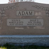 Solon D. Adam 1878 - 1949, son of Herman S. Adam and Sarah L. Schaeffer. His wife: Sallie S. Schappell Adam, 1882 - 1959, daughter of Isaac Shappell and Sarah A. Wartzenluft.