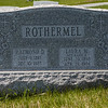 Rothermel, Raymond D., 1897 - 1983 and Laura M., nee Rausch, 1898 - 1984.