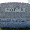 Yoder;<br /> > Frank E., 1895 - 1981, son of Jonathan K. Yoder and Emma Rausch.<br /> > Edna Irene (nee Balthaser), 1895 - 1978, wife of Frank E. Yoder, daughter of Mahlon Alvin Balthaser and Lizzie L. Miller.<br /> > Luke Yoder, 1917 - 2001, son of Frank E. Yoder and Edna Irene Balthaser, husband of Virginia R. Noecker.<br /> > Virginia R. (nee Noecker) Yoder, 1923 - 1991, wife of Luke Yoder.<br /> Frank and Edna's children were: Luke, Kathryn P, and one still living.