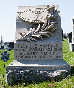 Robert E. Hoffman, 1890 - 1920. (Son of Michael W. Hoffman and Candace Ann Reber).