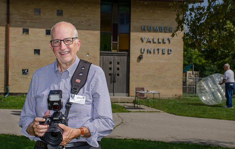 Photographer John S of the ETOBICOKE CAMERA CLUB