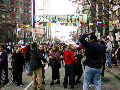 2003 San Francisco Anti-war Rally
