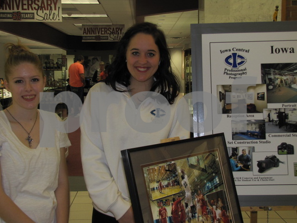 Students in the ICCC Photography Program, Alexis Hermanson and Haley Lofton, worked the ICCC booth.