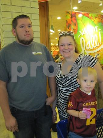 Kyle, Kaylin, and Brendan Bellcock attended Kidzmania.