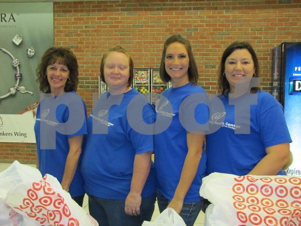 Brenda Trevis, Melanie Thompson, Heather Taylor, and Ashley Diedrick.