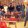 A nice crowd found their way to the Moose Lodge for the Lion's Pancake Breakfast.