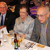 Lion Al Shaw (left), Alyce Voyles, and Lion Bill Kunerth (right). <br /> 29 Oct 2011