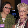 Lions Kelly Walton and Joyce Drabek - 29 Oct 2011