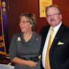 Lion Kathy Heitmann of Cambridge, Nebraska and Lion Bob Morris. <br /> 29 Oct 2011