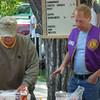Lions Gerald Keil (left) and Brian Kline.