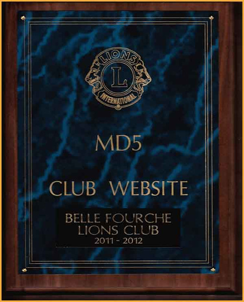 "We were delighted to learn that the Belle Fourche Lions Club won an Multiple District 5 (MD5) award for its ""Club Website.""  MD5 is comprised of clubs in South Dakota, North Dakota, and Saskatchewan.   We're always looking for ways to improve the site, so if you have ideas or suggestions, we hope you'll send us an <a href=""mailto: dakotamillers@gmail.com""><b><i>e-Mail</i><b></a>.  Thanks!           Return to <a href=""http://www.bellefourchelions.org/""><b><i>Belle Fourche Lions Club</i></b></a> web site."
