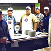"Lion Bill Kunerth snapped this shot, capturing several of the Lions work crew.  Thanks to the many members of the community who bought tickets and supported this important event!  At the end of the day, it was another very successful day.  Total income was $1709.00, with $412.81 in expenses (including advertising) with a net of $1296.19.  Thanks again to all who helped make it a success!  Return to our <a href=""http://www.bellefourchelions.org""><b><i>Belle Fourche Lions</i></b></a> web site."