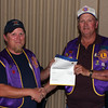 Lion John Cooper (right) was honored on Thursday, September 27, for his 30 years of service as a member of Lions, International.   In addition to the variety of jobs he's held within our club, he now serves as Membership Chairman.  Congratulations, Lion Cooper!