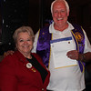 District Governor Wagner congratulates Belle Fourche Lions member Tom Nary on completing 15 years of Lions.   Congratulations Lion Nary!<br /> <br /> District Governor Wagner shared some of her experiences of attending the International Convention in Pusan, Korea -- along with about 50,000 other Lions!<br /> <br /> She noted that the State Convention will be head in Spearfish on January 18-19, 2013.<br /> <br /> She challenged each club in the district to achieve the Club Excellence Award and has set a goal for each club to have a net increase of three members.