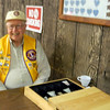"Lion Swede Wennberg mans the ticket station during the March 2014 Pancake Breakfast at the Belle Fourche Moose Lodge.           Return to <a href=""http://www.bellefourchelions.org""> <b><i><u>Belle Fourche Lions Club</u></i></b></a> web site."