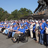 "A few of the ""Greatest Generation"" visit Arlington, Virginia"