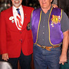 "Lions District Governor Larry Burkhead (left) was greeted by Lion Treasurer Rich Drabek at the Club's November 11, 2010 meeting. He discussed the contributions made by Lions Clubs.  This was the District Governor's annual visit to the  Belle Fourche Club.           <b>Return to <i> <a href=""http://www.bellefourchelions.org"">Belle Fourche Lions</a> web site</i></b>"
