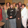 <b><i>NORTHERN LIGHTS CHARTER MEMBERS</i></b>  Left-to-right are Rich Drabek (BF Lions), Dallas Connor, Doug Scheller (District Governor), Sandra Wright, Joyce Drabek, Tracy Schellhammer, Samantha Drabek, Bev Banks, Rhonda Schmautz, Geri Drabek, Marsha Osloond, Kelly Walton, Teresa Schanzenbach, and Robin Carlson. Thanks to Lion Bill Kunerth for his photos. Click on the image for a larger version.