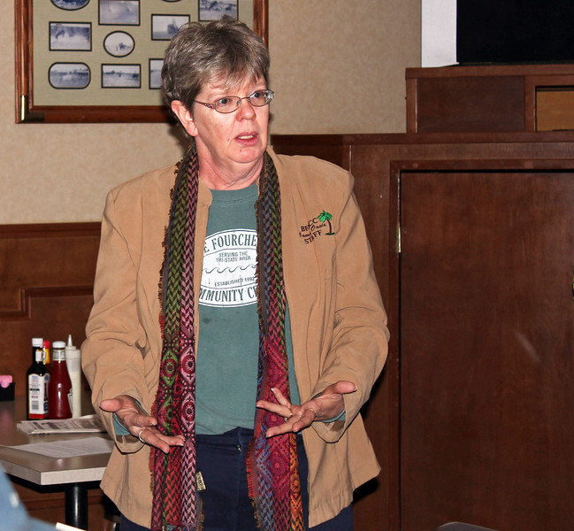 "<b>LIONS SUPPORT </i>""HEALTHIFY"" WORKSHOP IN MAY</b>  <b>The April 11, 2013 Lions meeting was a busy one!</b>  Marcie Urban provided a short program on the ""Healthify"" workshop slated for Sunday, May 5, 2013 at the Belle Fourche Area Community Center (BFACC).  The event is preliminary to a walking class that will meet twice each week and build up to walking a mile by the time of the June run that is planned.  The ""Healthify"" family workshop is open to all from ages 4 to 94 and costs $1 per person.  Lions voted to contribute $218 to help make the event a success."