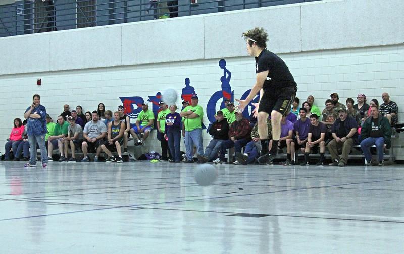 Physical agility is helpful!