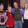 Lions 5SW District Governor Janice Wagner visited the Belle Fourche Lions Club on Thursday, October 11, and used the occasion to outline goals for Lions at both the district and international levels.  She also took a moment to congratulate two long-time Belle Fourche Lions members.  Shown left-to-right are club president Rik Bartels; District Governor Janice Wagner of Hot Springs; 30-year member John Cooper; and 45-year member Chuck Livingston.