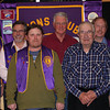 These Lions were recognized for perfect attendance during the past year.  Shown l-r are:    Rich Drabek, Del Neumeister, Rik Bartels, Leo Orme, Chuck Livingston, Brian Kline, and Larry Miller.  Lion Swede Wennberg was not available for this photo.  Of special note (and you'll be hearing more about this!) are the 45 Years of perfect attendance by Lion Chuck Livingston! (Photo credit: Lion Robert Morris, Esq.)