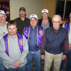 Officers for the Belle Fourche Lions Club in 2010 gathered after the May 13th meeting for this photo.  Left-to-right are:  Director Rick Walton, Secretary Rik Bartels, Director Steve Smith, President Ron Ensz, Tail Twister John Cooper, Lion Tamer Gerald Keil, and Treasurer Rich Drabek.  Not shown are 1st Vice President Brian Kline, 2nd Vice President Dick Banks, Tail Twister Tim Cleveland, and Directors Monte Raber, and Del Neumeister.