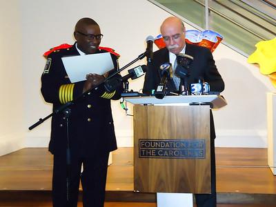 Long Leaf Pine Award for Chief Rodney Monroe