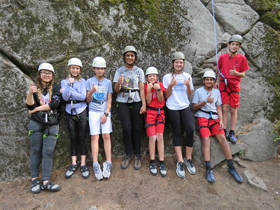 MS 7th Camp Spalding Climbing 9-19-18