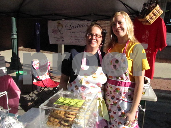 Cindy Bethke and Kourtney Marks of Larita's Cakes and Cookies.
