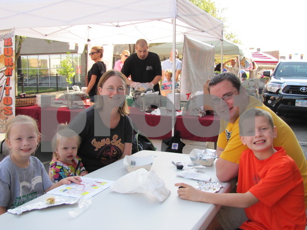 The McGonegle family enjoyed breakfast at Market on Central.  They are Kara, Caci, Kelley, Chris, and Ryan.