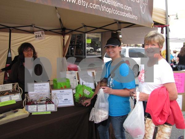 Brooke Hendrickson and Dana Beshorner at Market on Central.