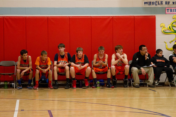 Morgan Basketball 2013