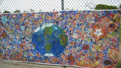 mural globe