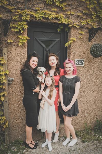 Rebecca and her girls