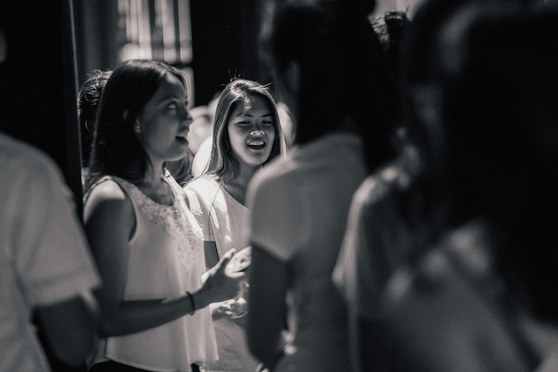 Behind the scenes coverage of the 29th Annual Pilipino Cultural Night: Habilin.