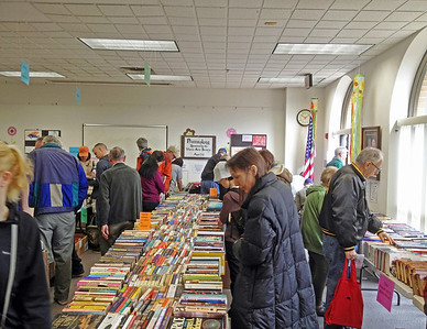 Patrick Henry Library Book Sale, March 2012